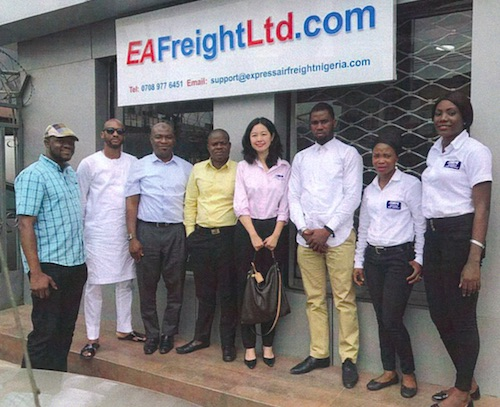 EXPRESS AIR FREIGHT (US) opens a joint venture office in Lagos, Nigeria